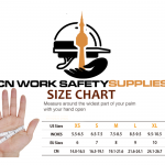 Gloves Size Chart