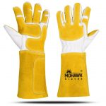 mohawk mig welding gloves cowhide leather
