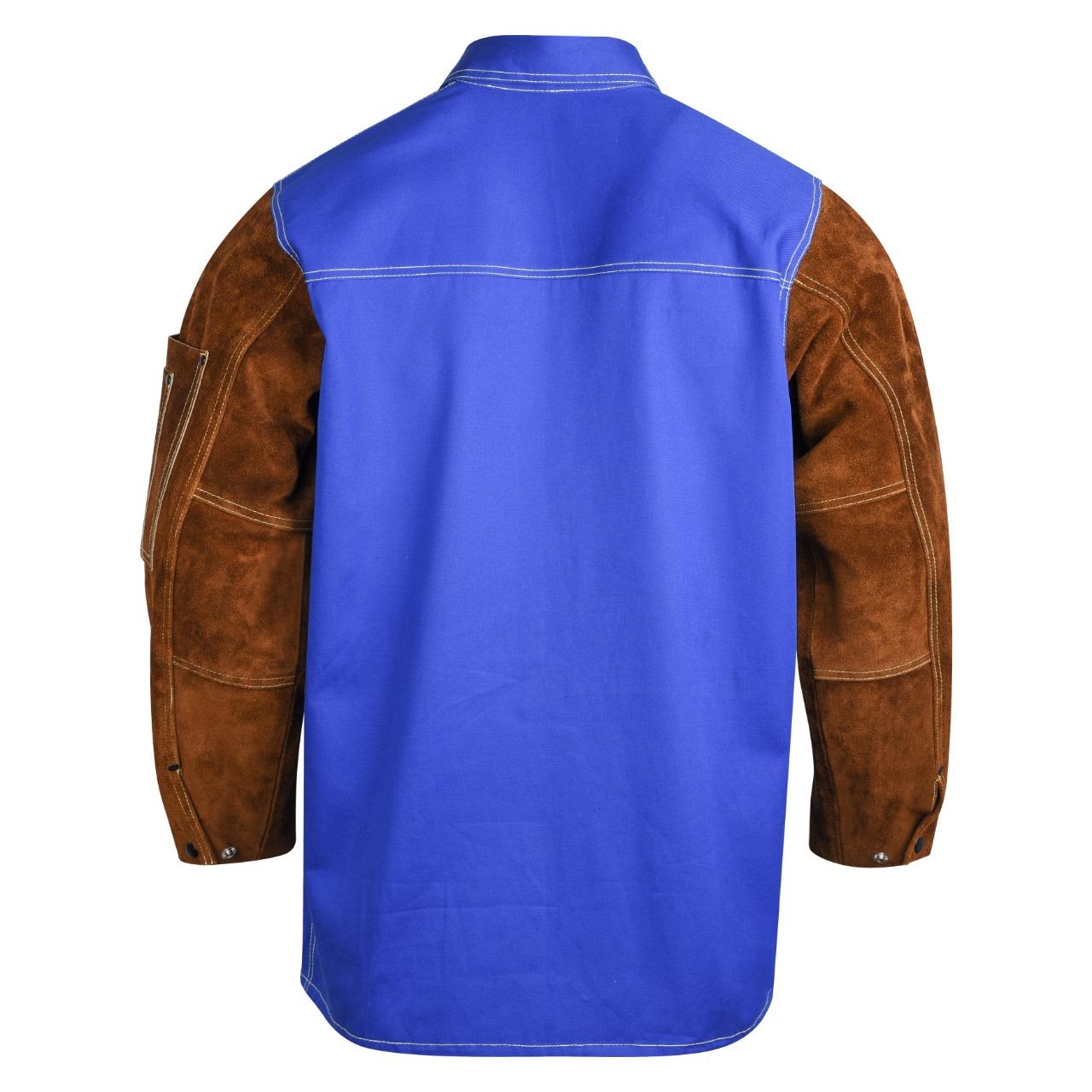 FR cotton jacket for light welding tasks