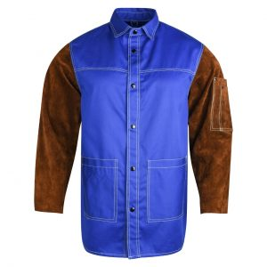 Flame Resistant Cotton Welding Jacket, Fire Retardant Cotton Welding Jacket